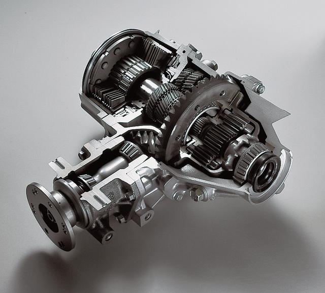 画像: ACD+AYC+スポーツABSのオールホイールコントロール(AWC)に、スーパーAYCを採用。後輪左右のトルク移動量を50%増大させ、旋回性能とトラクション性能を同時に向上させた新時代の4WDとなった。