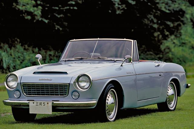 画像: ダットサン・フェアレディ1500(SP310型 1961年10月発表)