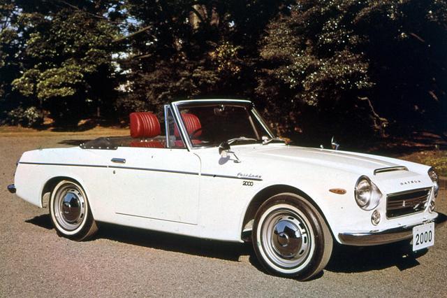 画像: ダットサン・フェアレディ2000(SR311型 1967年3月発表)