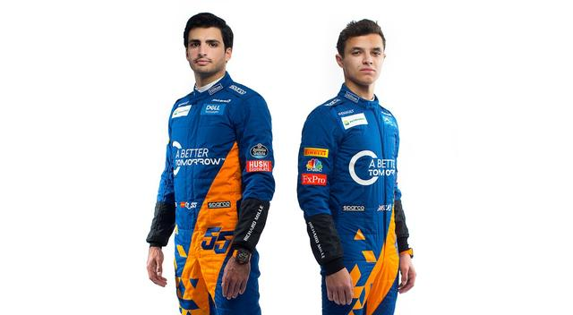 画像: ドライバーラインナップは、ルノーと関係の深いカルロス・サインツJr.(左)と、新人ランド・ノリス。