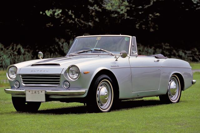 画像: ダットサン・フェアレディ1600(SP311型 1965年5月発表)