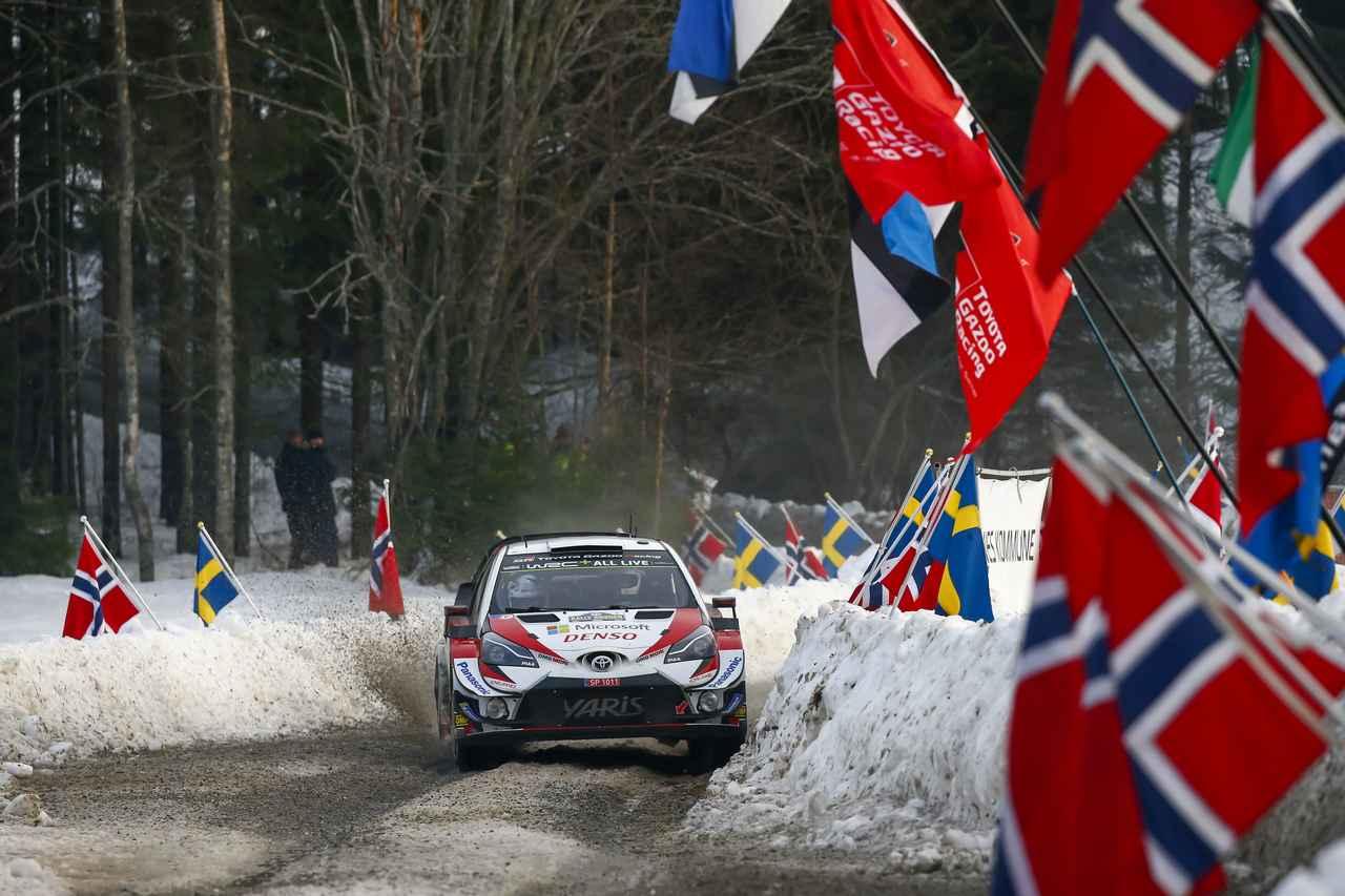 【モータースポーツ】2019 WRCラリー・スウェーデン デイ2、フォードのスニネンがトップに浮上