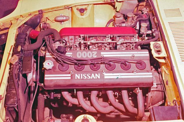 画像: Z432に搭載されたS20型。国内最強を誇ったが、Zでは駆動系の振動などの問題が出て、71年からは追加されたL24に主力の座を譲ることになる。