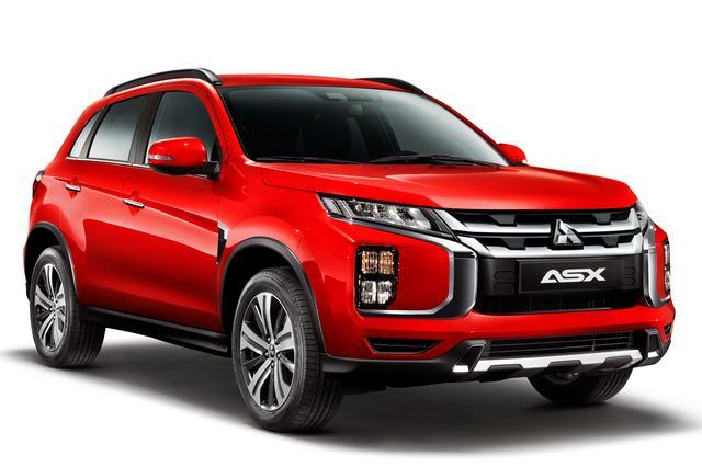 画像: コンパクトSUV「ASX(日本名:RVR)」の2020年モデル。日本デビューも、もうすぐ?