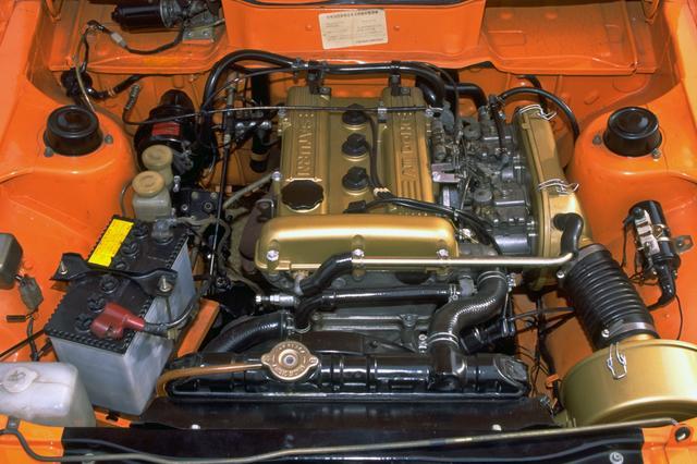 画像: 4G32型はボア76.9×ストローク86mmのロングストロークで、低速トルクが強く加速は強力だ。