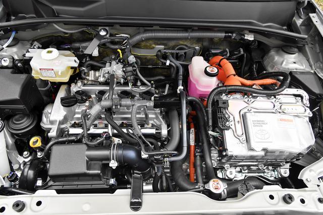 画像: 1.5Lエンジンとモーターによるシステム最高出力は100psになる。