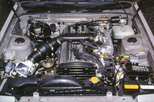 画像: トヨタ セリカXX 2800GTのエンジンは、5M-GEU型 直6 DOHC。