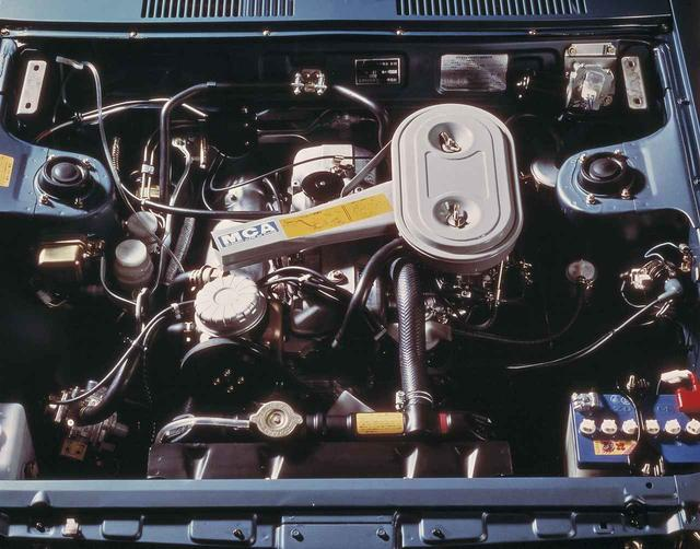 画像: 搭載エンジン。