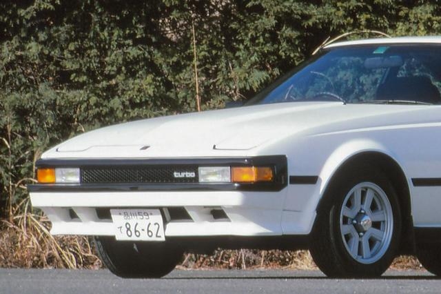 画像: トヨタ セリカXXの、これは後期型。フロントマスクやテールライトなどが変更されている。