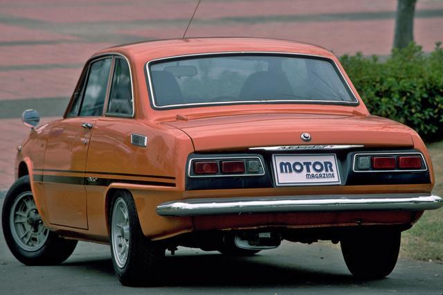 画像: 独特のクーペスタイルは、当時の日本車としては斬新なスタイリングだった。