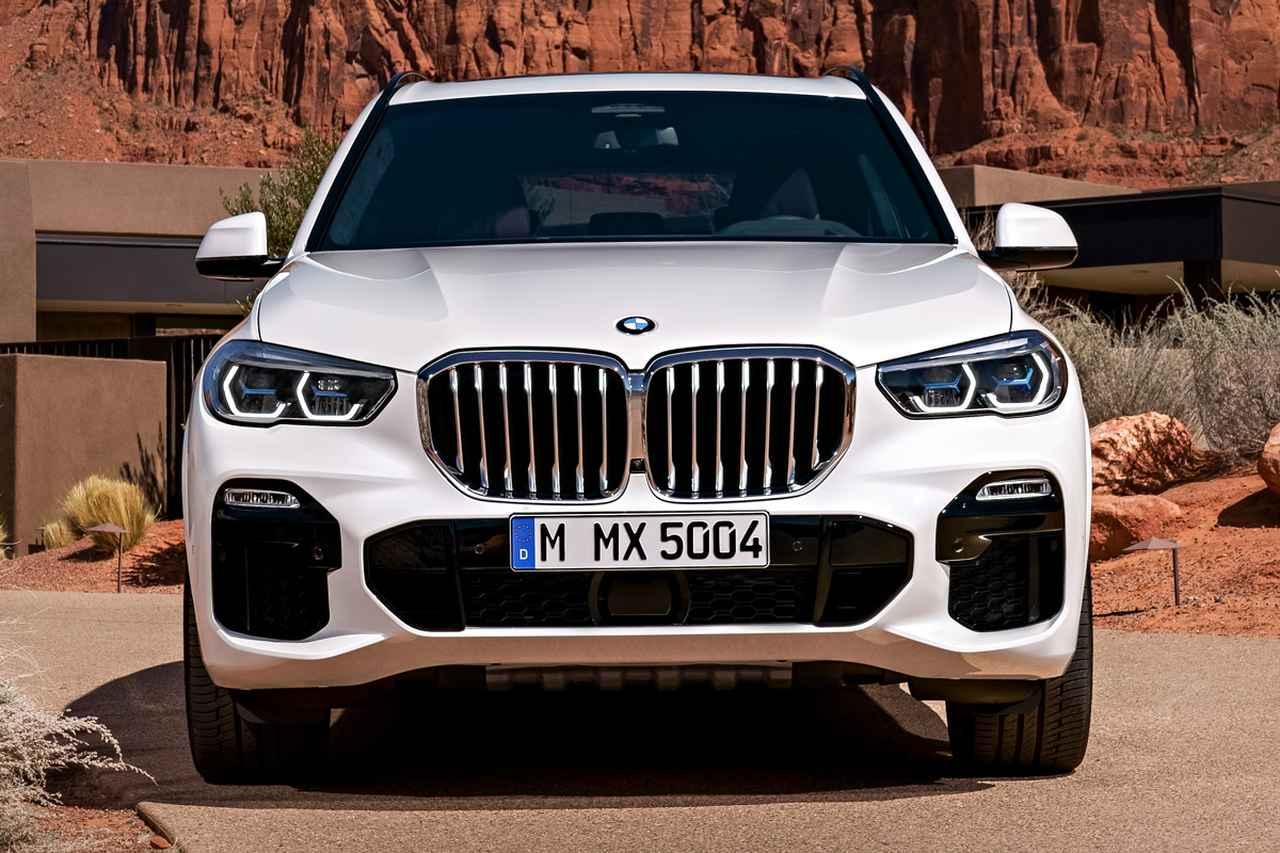 Images : 1番目の画像 - 「BMW X5がフルモデルチェンジ、全幅は2mを突破。ディーゼルエンジンから導入」のアルバム - Webモーターマガジン