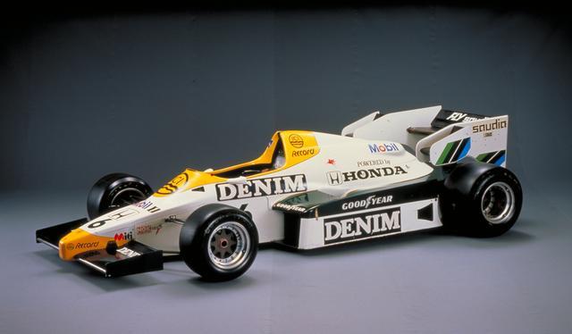 画像: 1984年、F1活動第2期の「ウィリアムズ・ホンダFW09」。