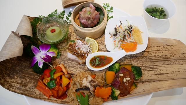 画像: 常磐自動車道・守谷SA(上り)の「チャイニーズダイニングMoriya 肉と野菜の お・も・て・な・し」