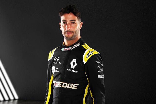 画像: Daniel Ricciardo ゼッケン:3 出身:オーストラリア 1989年7月1日生まれ