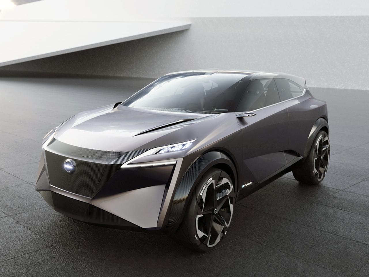 日産自動車、クロスオーバーコンセプトの「IMQ」を世界初公開【2019ジュネーブショー】 - Webモーターマガジン