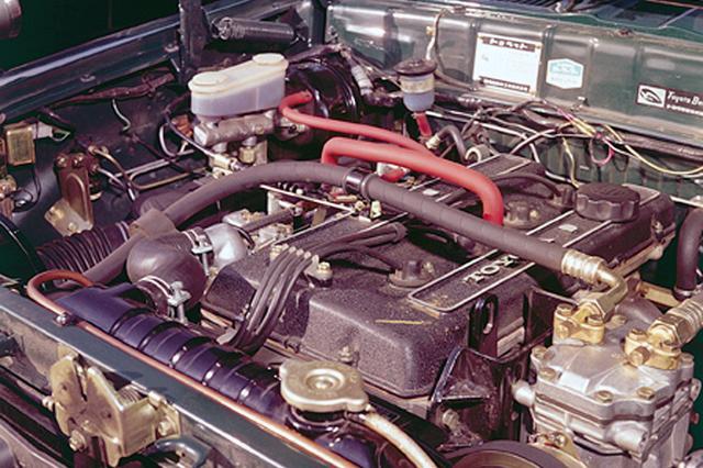 画像: 8R型にヤマハ製DOHCヘッドを架装した10R型は9.7の圧縮比とソレックス2連装で140psを発生した。