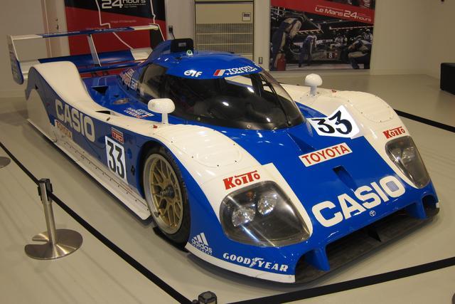 画像: 1992年のル・マン24時間で2位入賞を果たした33号車「TS101」。メガウェブ ヒストリーガレージに特別展示されていた時のもので、公開は不定期に行われているという。