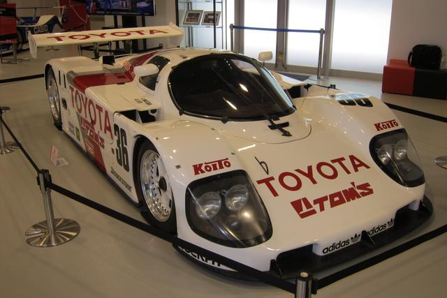 画像: 2018年に開催された「トヨタ ル・マン24h 挑戦の軌跡展」(メガウェブ ヒストリーガレージ)に登場したトヨタ90C-V。展示車は1990年のル・マンでスペアカーとして使用された車両。