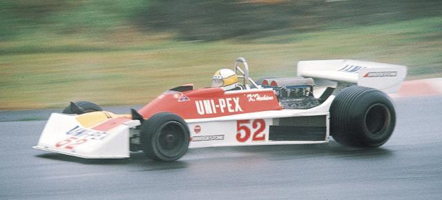画像: 日本初開催となったF1に旧型のティレル007・フォードでスポット参戦。予選21位スタートで、大雨の中、並み居る外国勢をブチ抜き、一時は3位を走行する(1976年10月24日F1世界選手権イン・ジャパン)。