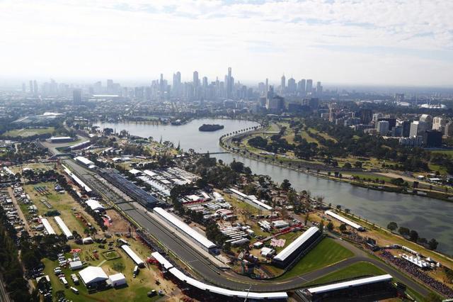 画像: オーストラリアGPが開催されるメルボルン・アルバートパークサーキット。公園内の特設コースで行われる。