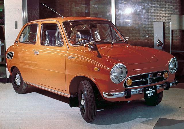 画像: スズキ・フロンテSS(LC10型 1968年11月発表)