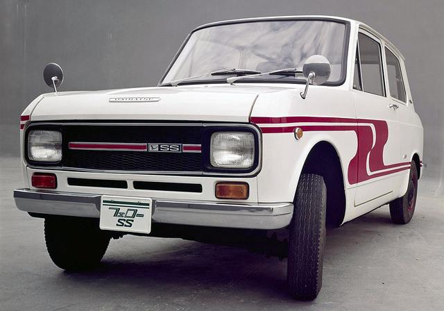 画像: ダイハツ・フェローSS(L37S型 1968年5月発表)