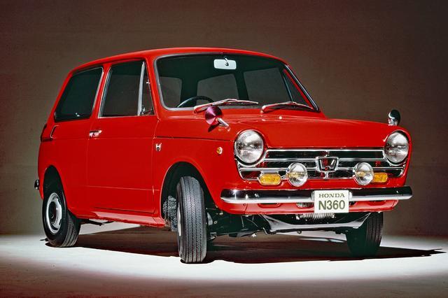 画像: ホンダ N360TS(N360型 1968年9月発表)