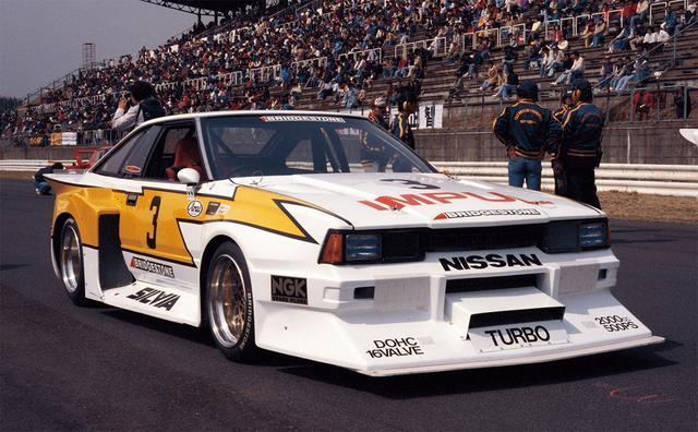 画像: GCの前座レースとして開催されたグループ5規定のスーパーシルエットレース。S110シルビアターボで初レース優勝をモノにする。このとき星野34歳(1981年3月29日富士GCシリーズRd1富士300キロレース大会)。