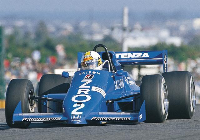 画像: ホンダエンジンを手に入れた2年目のシーズン。最終戦・鈴鹿は予選 2 位、決勝も優勝で鈴鹿F2チャンピオンを獲得し、全日本選手権ではシリーズ2 位となる(1986年11月2日鈴鹿F2選手権・最終戦)。
