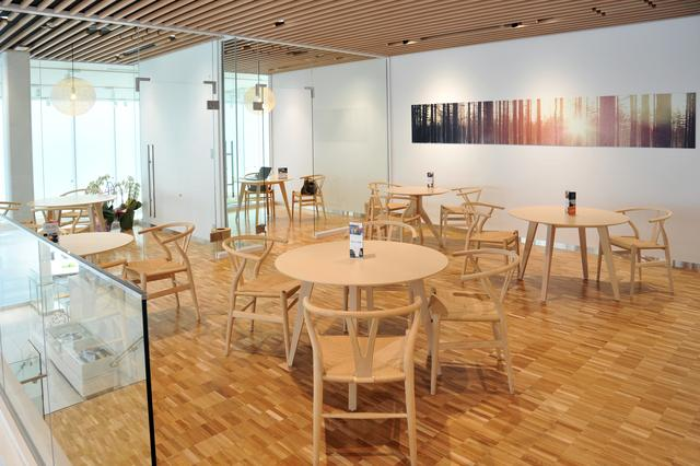 画像: ひとつひとつの素材が吟味されて使われる。スカンジナビアデザインが感じられる空間だ。