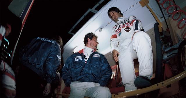 画像: 初のル・マン参戦。コドライバーは松本恵二と鈴木亜久里。決勝は64周でリタイア(23号車)となる。もう一台の長谷見 / 和田 / ウィーバー組の32 号車は 285 周で 16位完走を果たす。(1986年5月31日-6月1日ル・マン24時間レース)。