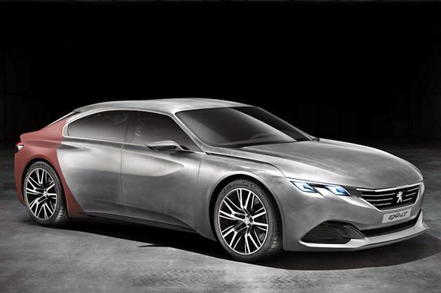 画像: 2014年の北京モーターショーで発表された「イグザルト」