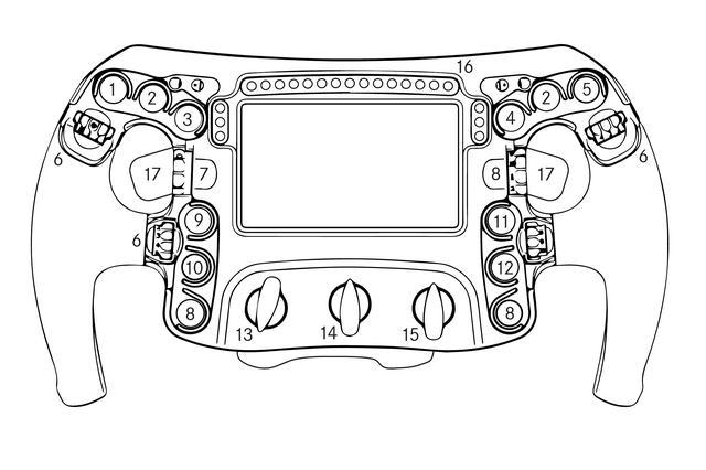 画像: 激しい振動のコクピットでドライバーは小さなスイッチを操作している