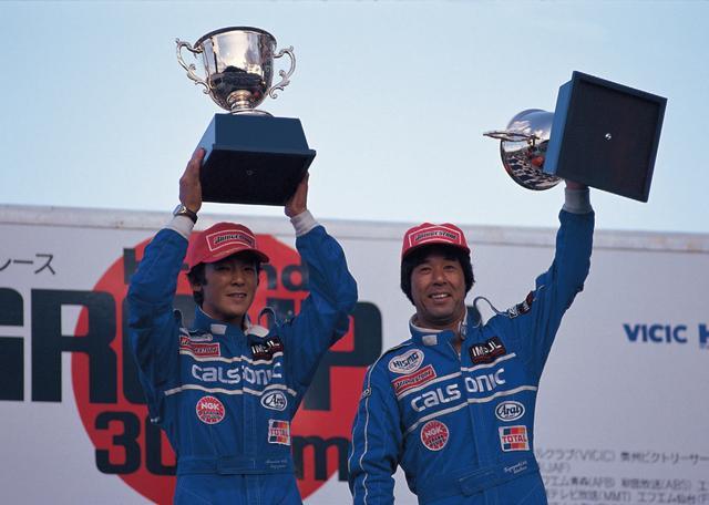 画像: この年、星野は影山正彦と組み、3勝を挙げる(1992年9月30日JTC Rd7仙台)。