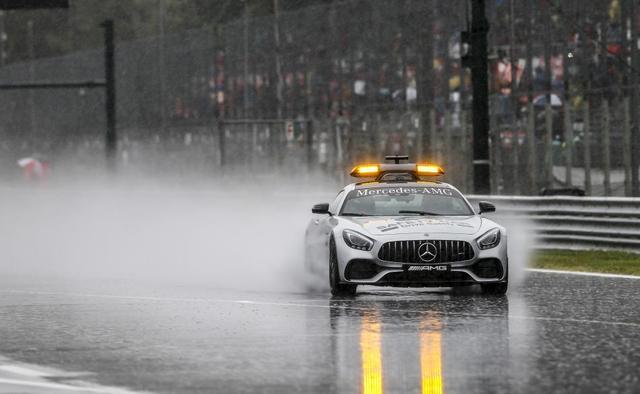画像: オフィシャルセーフティカーとしてグランプリで目にするメルセデスAMG GT。