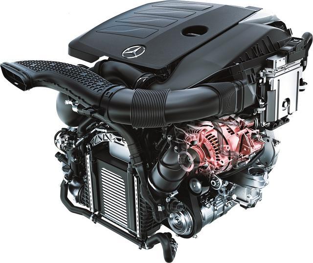 画像: 効率化と高性能化のための新技術「BSG (ベルトドリブン・スターター・ジェネレーター)+48V(ボルト)電気システム」を搭載した新型1.5L 直4直噴ターボエンジン。