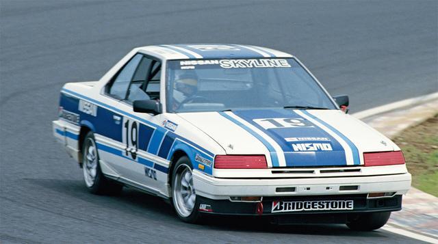 画像: JTC のスタートしたこの年、星野は6月の第 2 戦・筑波でのレース・ド・ニッポンにスカイライン RS ターボで、近藤真彦とペアを組んでエントリーして話題を集める。結果はポールを獲得しながらも決勝はリタイアだった(1985年6月16日JTC Rd2筑波レース・ド・ニッポン)。