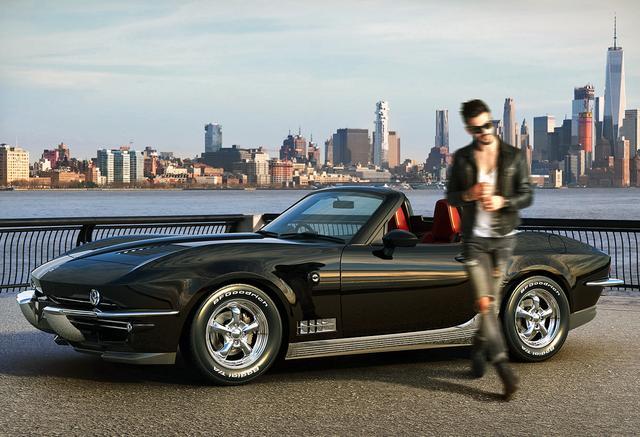 画像: 日本車離れしたアメリカン・ネオクラシックなスタイルが人気を呼んだようだ。
