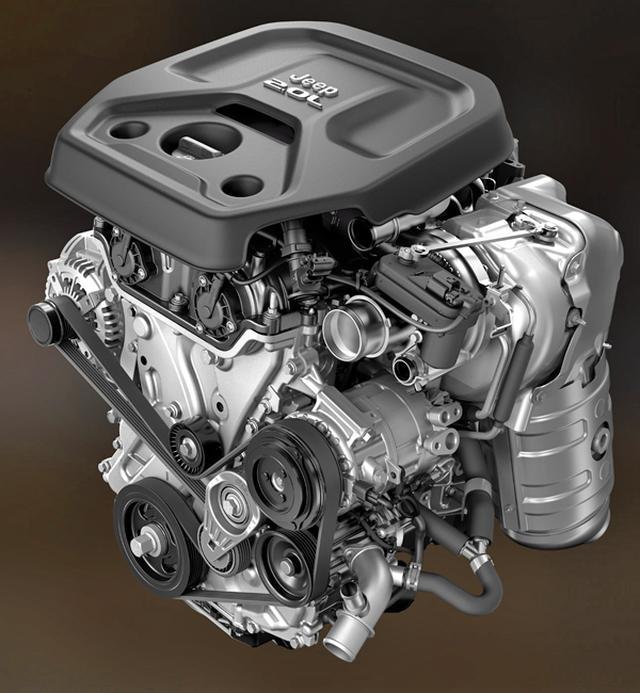 画像: 新世代の2Lツインスクロール ターボエンジン