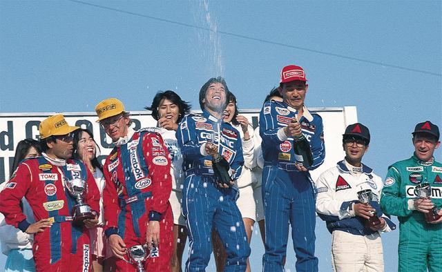 画像: この年、星野は北野 元とのコンビで第2戦・西仙台で 1勝を獲得。しかし栄光のグループA伝説は、翌 90 年のあのクルマを待たなければならなかった…(1989年5月21日JTC Rd2筑波レース・ド・ニッポン)。
