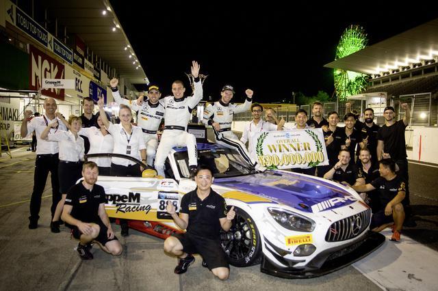 画像: 鈴鹿10時間の初代ウイナーに輝いたのはGruppeM RacingのメルセデスAMG GT3だった。