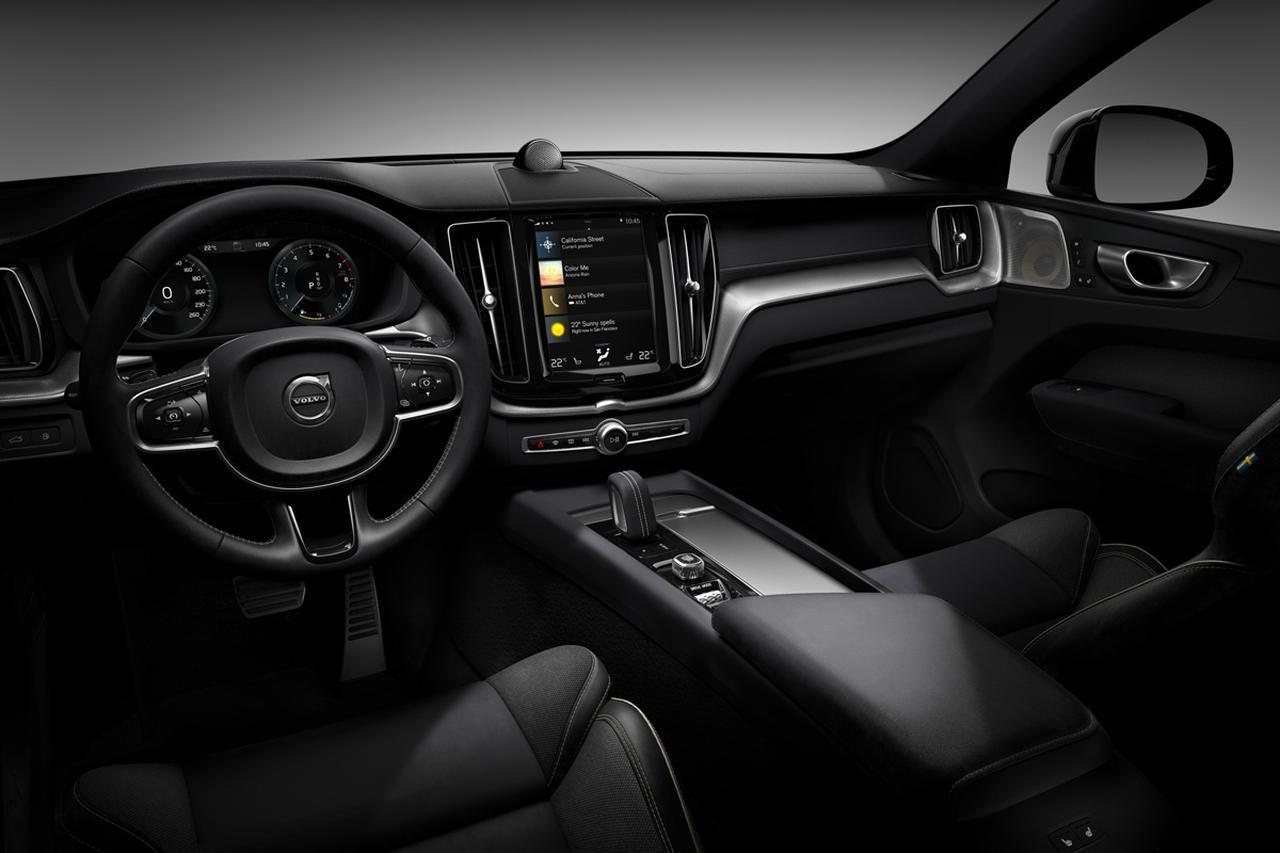 画像: XC60 R-Design専用オープングリッドテキスタイル レザーコンビネーションシート。