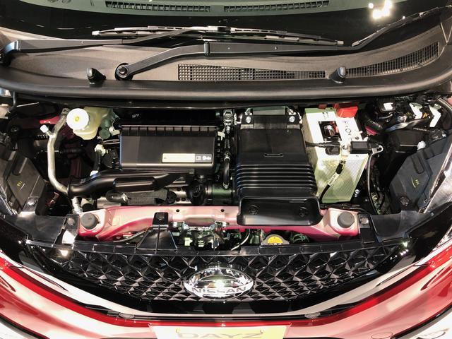 画像: 最高出力64psのモーター+インタークーラー付きターボエンジン搭載車のWLTCモード燃費は19.2km/L(2WD)。