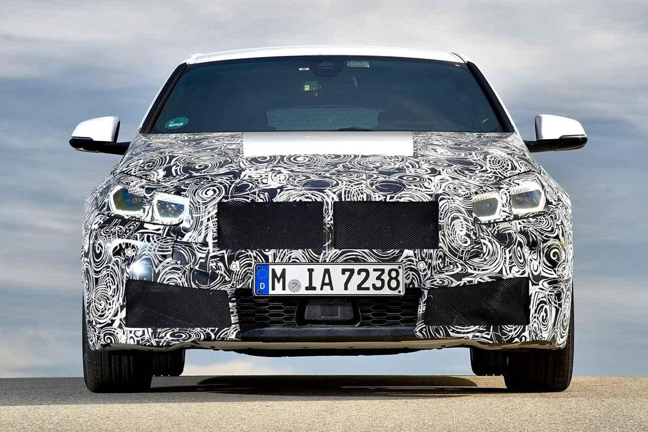 画像: BMWの次期1シリーズ。