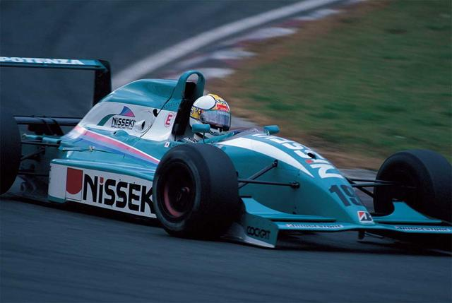 画像: シーズン終盤の富士ファイナルにて優勝。ポイントリーダーに立つ(1993年10月17日 全日本F3000 Rd10 富士)。