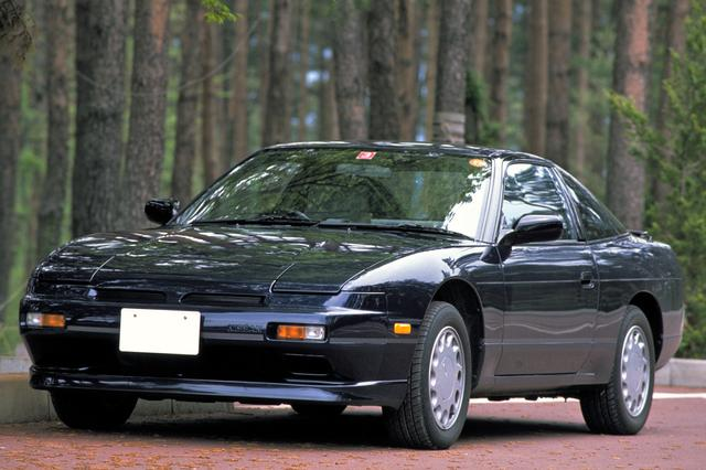 画像: 1993年にS13型シルビアがフルモデルチェンジされた後も、180SXは98年まで生産が継続された。