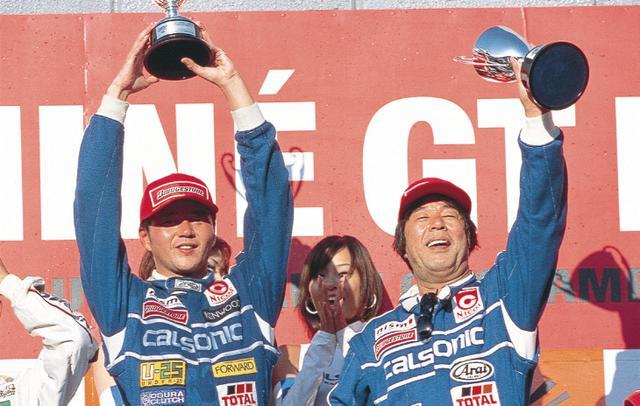 画像: 本山とのコンビで予選5位でスタートし、全日本選手権最後の優勝となる(2000年10月1日 JGTC Rd6 MINE)。