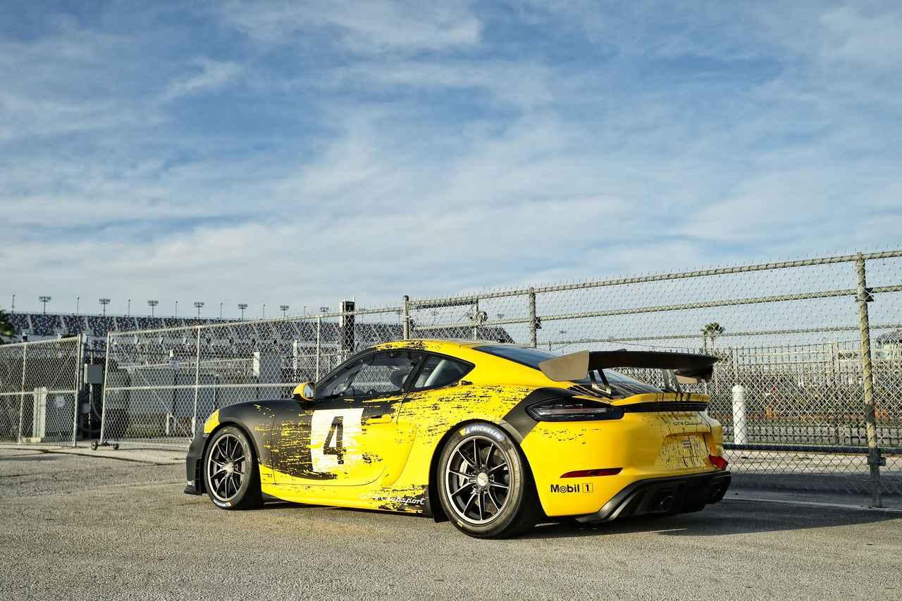 Images : 3番目の画像 - 「レース仕様のポルシェ 718ケイマン GT4クラブスポーツが登場【モータースポーツ】」のアルバム - Webモーターマガジン