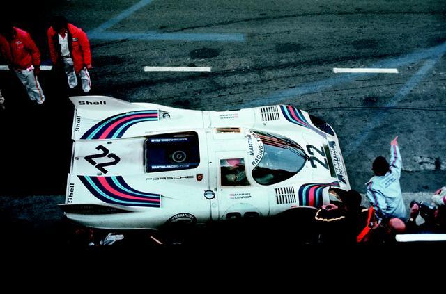 画像: 1971年、この年も優勝したのはショートテールの「917K」だった。