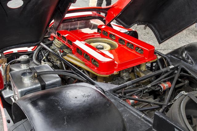 画像: 優勝した「917K」に搭載されていたエンジンは空冷の4.5L 水平対向12気筒エンジンだった。
